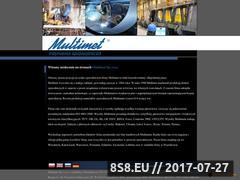 Miniaturka domeny www.multimet.com.pl