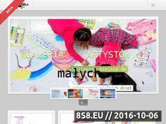 Miniaturka Galeria prac dzieci, oraz poradniki dla rodziców (www.mumka.pl)