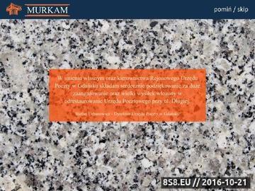 Zrzut strony Granit, marmur Gdańsk - Murkam