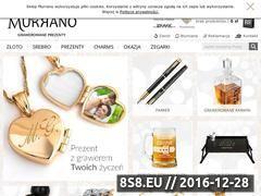 Miniaturka domeny www.murrano.pl