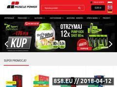 Miniaturka domeny musclepower.pl