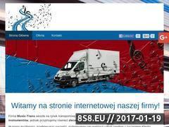 Miniaturka domeny www.music-trans.com.pl