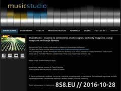 Miniaturka www.musicstudio.pl (MusicStudio - studio nagrań, muzyka na zamówienie )