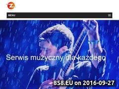 Miniaturka musiczone.pl (Wyszukiwarka koncertów oraz zespołów muzycznych)