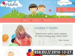 Miniaturka www.muufa.pl (Kreatywne zabawki dla dzieci)