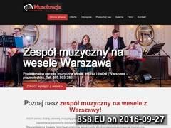 Miniaturka muzokracja.com.pl (Zespół na wesele z Waszawy i oprawa muzyczna)