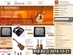 Miniaturka domeny www.muzycznymarket.pl