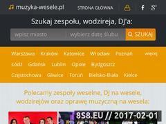 Miniaturka domeny www.muzyka-wesele.pl