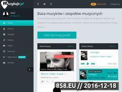 Miniaturka www.muzykuje.pl (Ogłoszenia muzyczne)