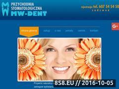 Miniaturka domeny mw-dent.pl