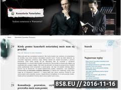 Miniaturka domeny www.mwkancelaria.pl