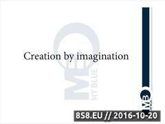 Miniaturka domeny www.myblue.eu
