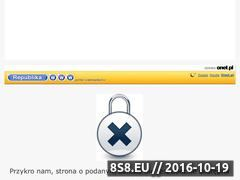 Miniaturka domeny mycie.republika.pl