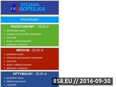 Miniaturka domeny myjnia-kropelka.pl