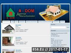 Miniaturka domeny www.n-dom.eu