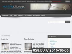 Miniaturka domeny www.naczyniaszklane.pl