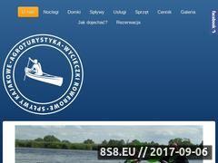 Miniaturka nadpilica.eu (Spływy kajakowe Pilicą oraz kajaki Białobrzegi)