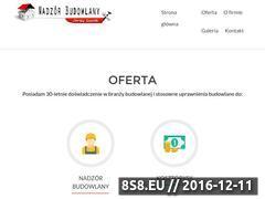 Miniaturka domeny www.nadzorybudowlane-grojec.pl