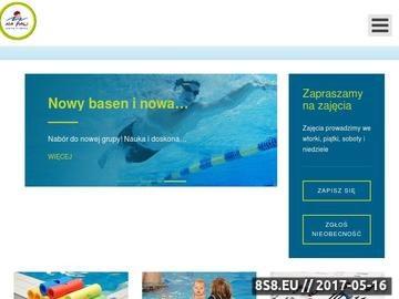 Zrzut strony NA FALI Szkoła Pływania dla dzieci i niemowląt w Gdańsku