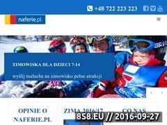Miniaturka domeny naferie.pl