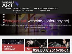 Miniaturka domeny www.naglosnieniekrakow.pl
