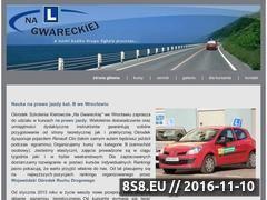 Miniaturka Kursy na prawo jazdy (nagwareckiej.pl)