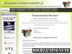 Miniaturka domeny najlepsze-przeprowadzki.pl