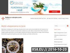 Miniaturka domeny najlepsze-ubezpieczenie-na-zycie.pl