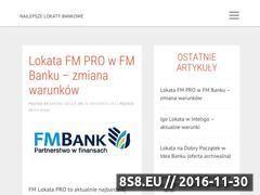 Miniaturka domeny www.najlepszelokatybankowe.com