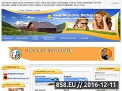 Miniaturka domeny najlepszenoclegi.pl
