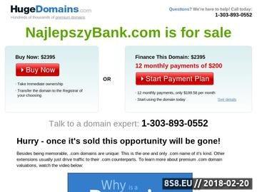 Zrzut strony Najlepsza oferta bankowa