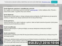 Miniaturka najlepszykredyt24.pl (Porównywarka kredytów, ubezpieczeń, lokat i kont)