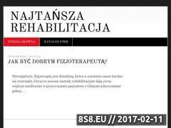 Miniaturka domeny najtansza-rehabilitacja.pl