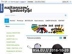 Miniaturka domeny najtanszegadzety.pl