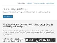 Miniaturka domeny najtanszy-kredyt-gotowkowy.pl