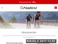 Miniaturka nalinisklep.pl (Odzież kolarska Nalini)