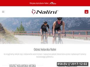 Zrzut strony Odzież kolarska Nalini