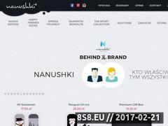 Miniaturka domeny nanushki.com