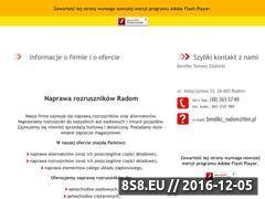 Miniaturka domeny naprawa-rozrusznikow.radom.pl