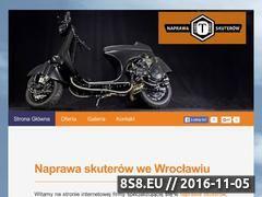 Miniaturka naprawa-skuterow.pl (Naprawa skuterów gilera Wrocław)