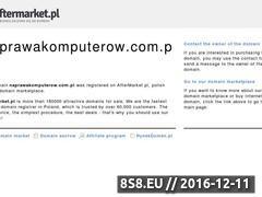 Miniaturka domeny naprawakomputerow.com.pl