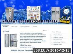 Miniaturka domeny www.naprawalodowki.com.pl