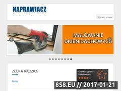 Miniaturka domeny naprawiacz.waw.pl