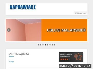 Zrzut strony Złota rączka Warszawa - hydraulik, elektryk, szybkie naprawy domowe