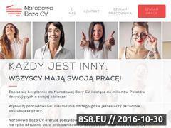 Miniaturka Baza pracowników i pracodawców Online (narodowabazacv.pl)