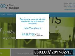 Miniaturka domeny narrator.com.pl
