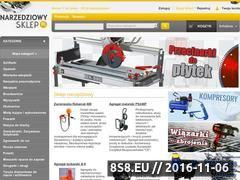 Miniaturka domeny www.narzedziowy-sklep.pl