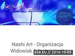 Miniaturka www.nashiart.com (Nashi Art - akrobatyka powietrzna)