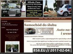 Miniaturka domeny www.nasluby.pl