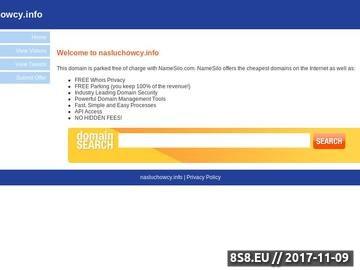 Zrzut strony Portal dla nasłuchowców